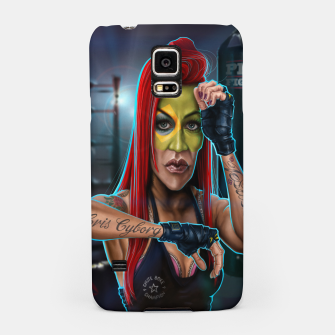 Thumbnail image of Cris Cyborg Samsung Case, Live Heroes