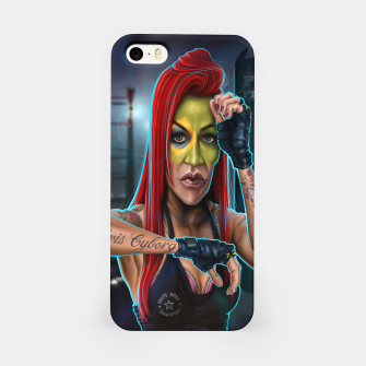 Thumbnail image of Cris Cyborg iPhone Case, Live Heroes
