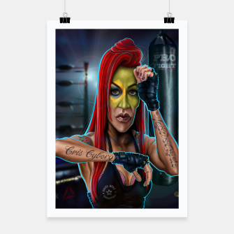 Thumbnail image of Cris Cyborg Poster, Live Heroes
