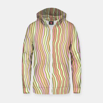 Miniaturka Colorful stripes Cotton zip up hoodie, Live Heroes