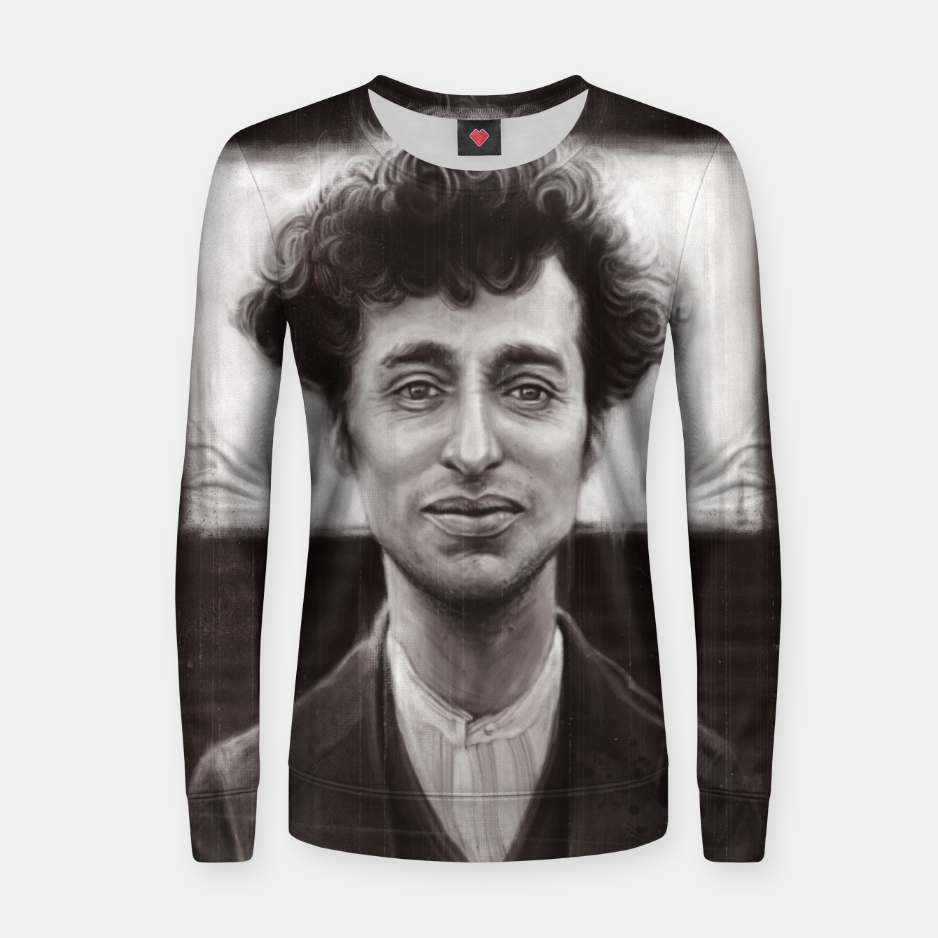 Image of Charles Spencer Chaplin Woman cotton sweater - Live Heroes
