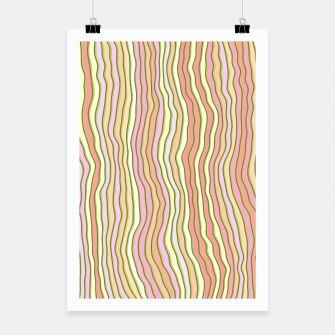 Miniaturka Colorful stripes Poster, Live Heroes