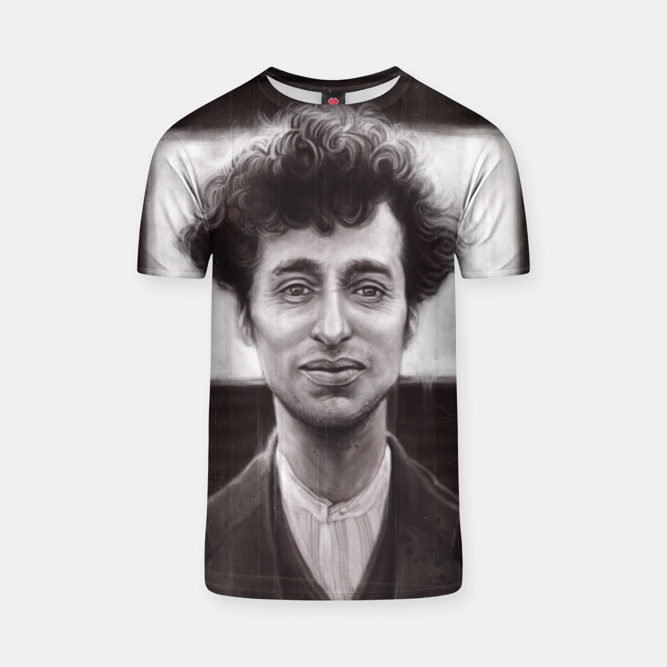 Image of Charles Spencer Chaplin T-shirt - Live Heroes