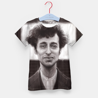 Thumbnail image of Charles Spencer Chaplin Kid's t-shirt, Live Heroes