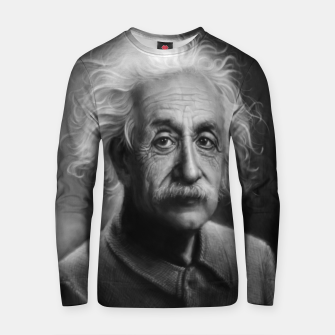 Thumbnail image of Albert Einstein Cotton sweater, Live Heroes