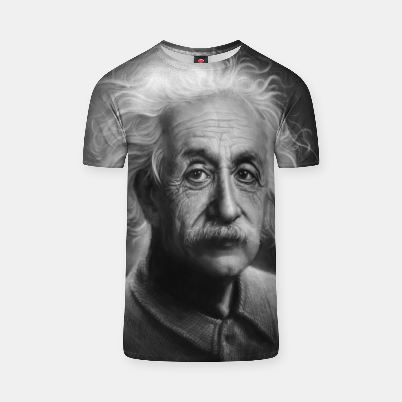 Image of Albert Einstein T-shirt - Live Heroes