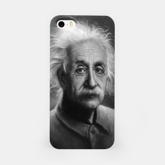 Thumbnail image of Albert Einstein iPhone Case, Live Heroes