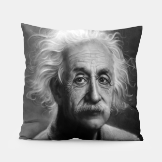 Thumbnail image of Albert Einstein Pillow, Live Heroes