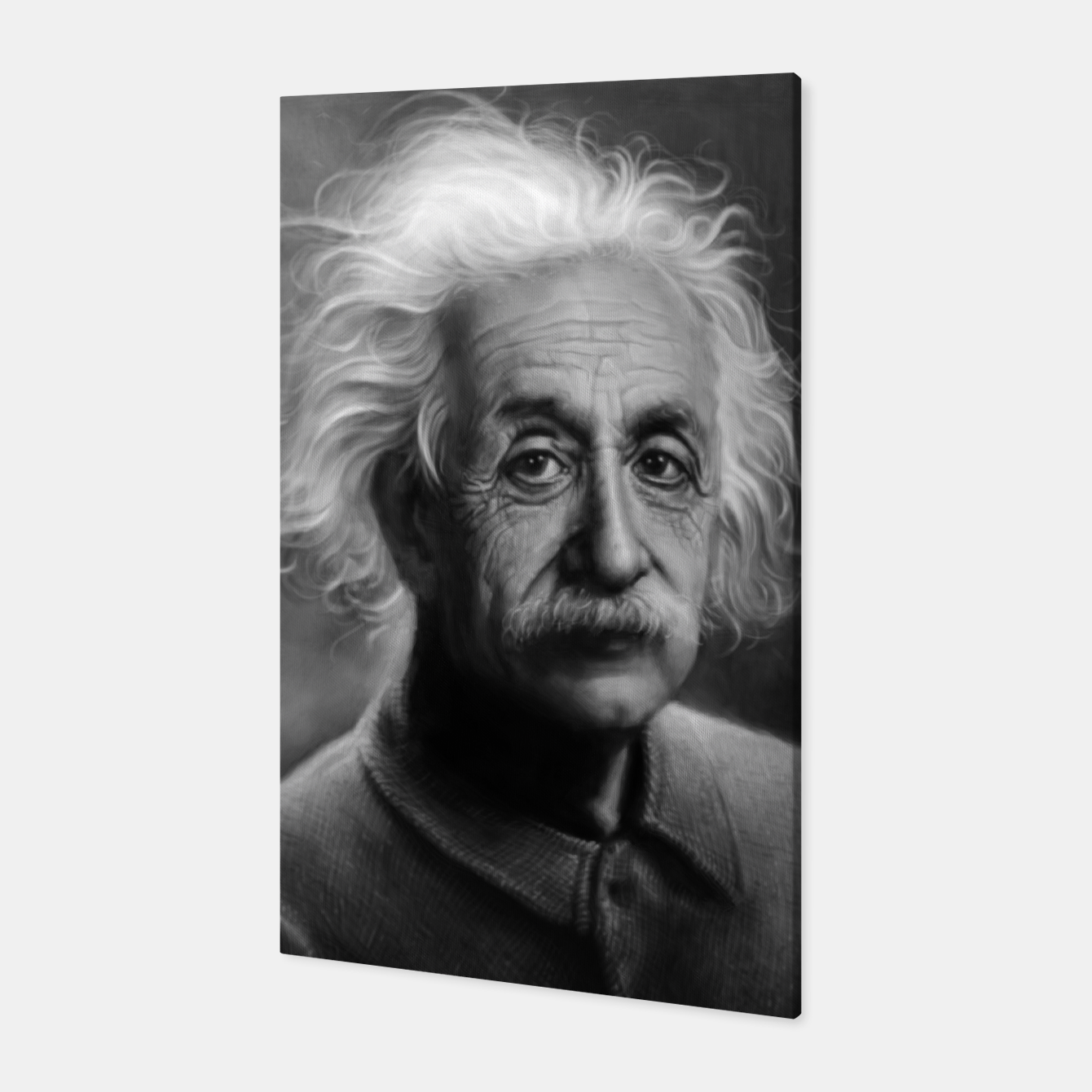 Image of Albert Einstein Canvas - Live Heroes