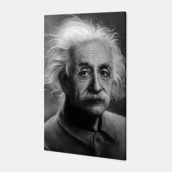 Thumbnail image of Albert Einstein Canvas, Live Heroes