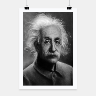 Thumbnail image of Albert Einstein Poster, Live Heroes