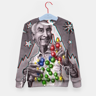 Thumbnail image of Dr Albert Hoffman Kid's sweater, Live Heroes