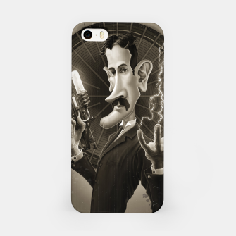 Thumbnail image of Nikola Tesla iPhone Case, Live Heroes