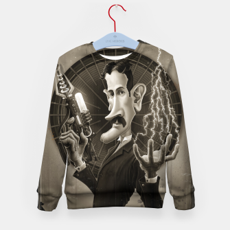 Nikola Tesla Kid's sweater thumbnail image