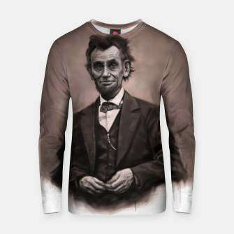 Thumbnail image of Abraham Lincoln Cotton sweater, Live Heroes