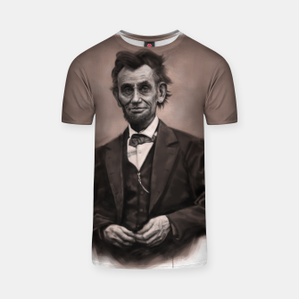 Thumbnail image of Abraham Lincoln T-shirt, Live Heroes