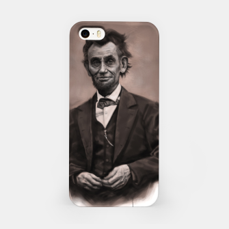 Thumbnail image of Abraham Lincoln iPhone Case, Live Heroes