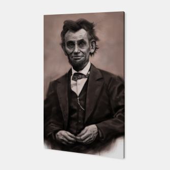 Thumbnail image of Abraham Lincoln Canvas, Live Heroes