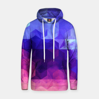 Miniature de image de Abstract GEO Cotton hoodie, Live Heroes