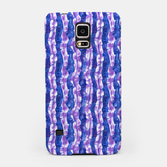 Thumbnail image of Seaweed Stripe (Blue, Violet & White) Samsung Case, Live Heroes