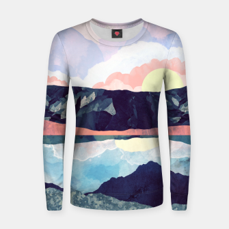Miniaturka Lake Reflection Woman cotton sweater, Live Heroes
