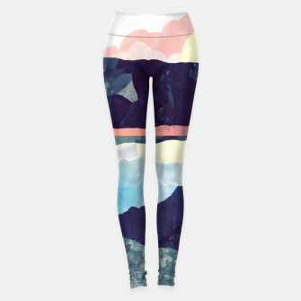 Miniatur Lake Reflection Leggings, Live Heroes