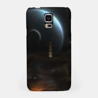 Thumbnail image of Unknown Frontiers Sci-Fi Fractal Space Fantasy Samsung Case, Live Heroes
