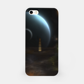 Thumbnail image of Unknown Frontiers Sci-Fi Fractal Space Fantasy iPhone Case, Live Heroes