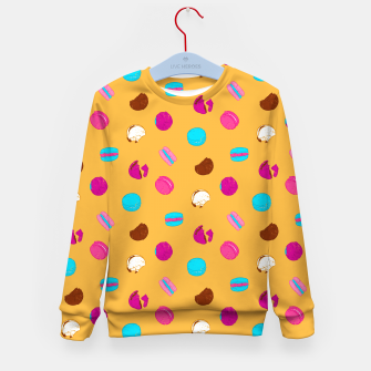 Thumbnail image of French macarons Kid's sweater, Live Heroes