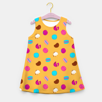 Thumbnail image of French macarons Girl's summer dress, Live Heroes