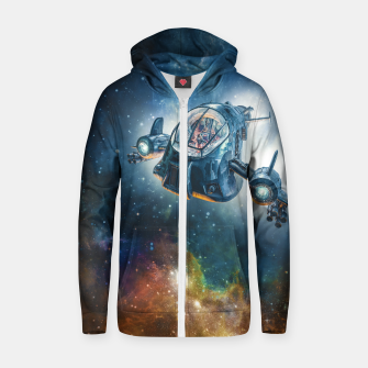 The Scout Ship Cotton zip up hoodie thumbnail image