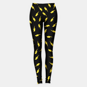 Thumbnail image of Yellow Bolt Leggings, Live Heroes