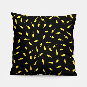 Thumbnail image of Yellow Bolt Pillow, Live Heroes