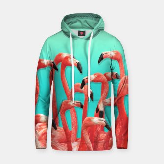 Miniaturka Rush Hour Flamingo Cotton hoodie, Live Heroes