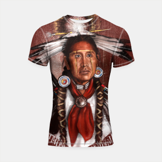 Pow Wow Dancer Shortsleeve rashguard thumbnail image