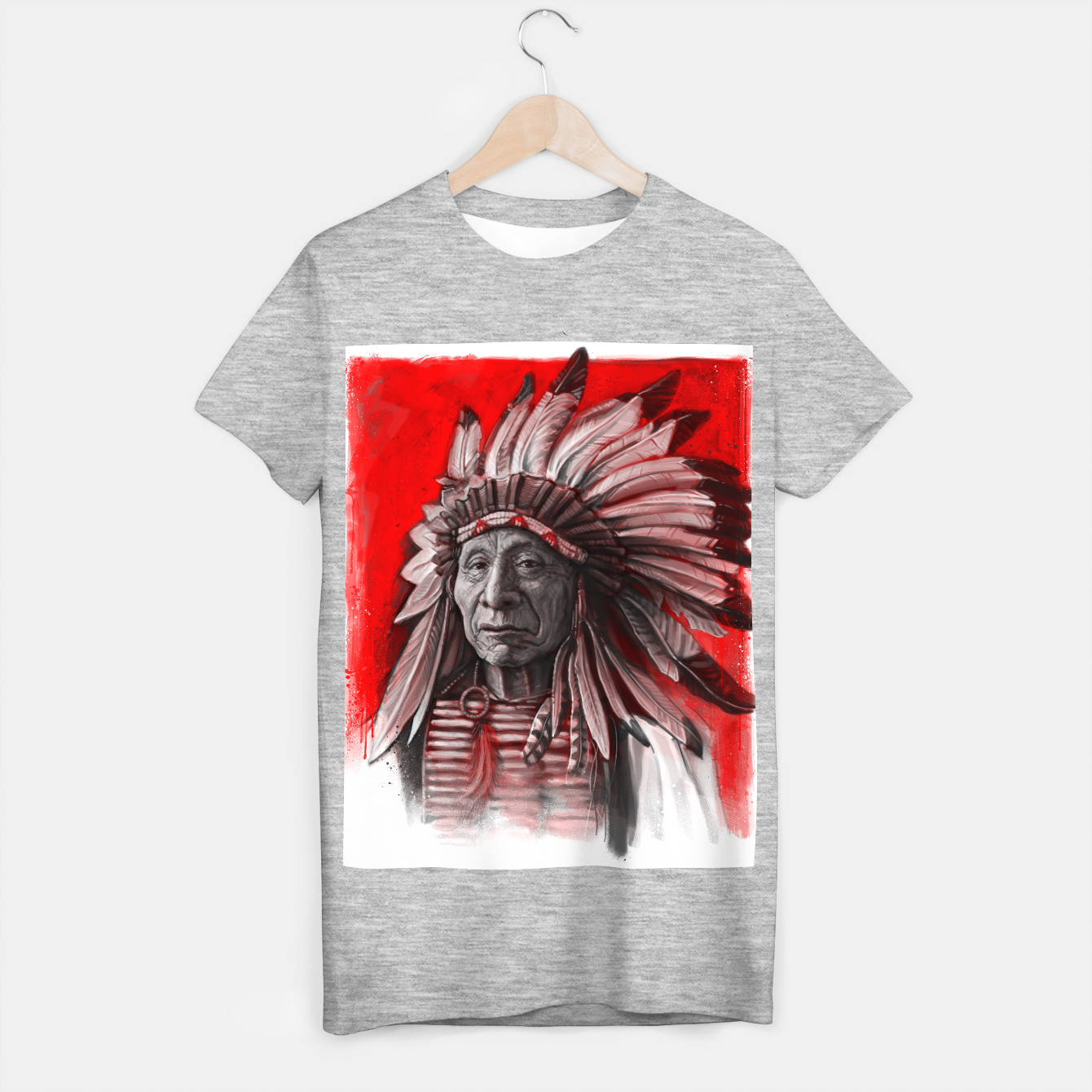 Image of Red Cloud T-shirt regular - Live Heroes