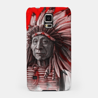 Thumbnail image of Red Cloud Samsung Case, Live Heroes