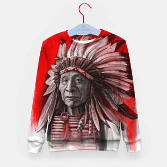 Thumbnail image of Red Cloud Kid's sweater, Live Heroes