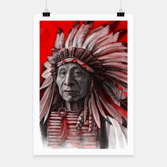 Thumbnail image of Red Cloud Poster, Live Heroes