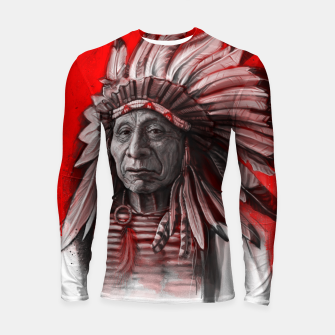 Thumbnail image of Red Cloud Longsleeve rashguard , Live Heroes