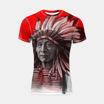 Thumbnail image of Red Cloud Shortsleeve rashguard, Live Heroes