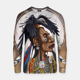 Thumbnail image of Medicine crow Cotton sweater, Live Heroes