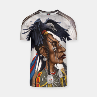 Thumbnail image of Medicine crow T-shirt, Live Heroes