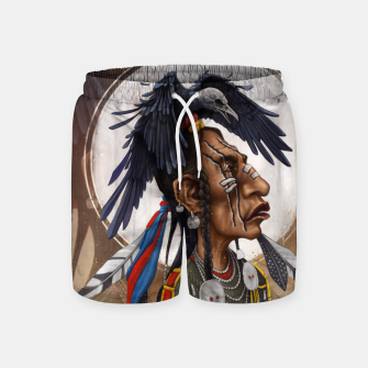 Thumbnail image of Medicine crow Swim Shorts, Live Heroes