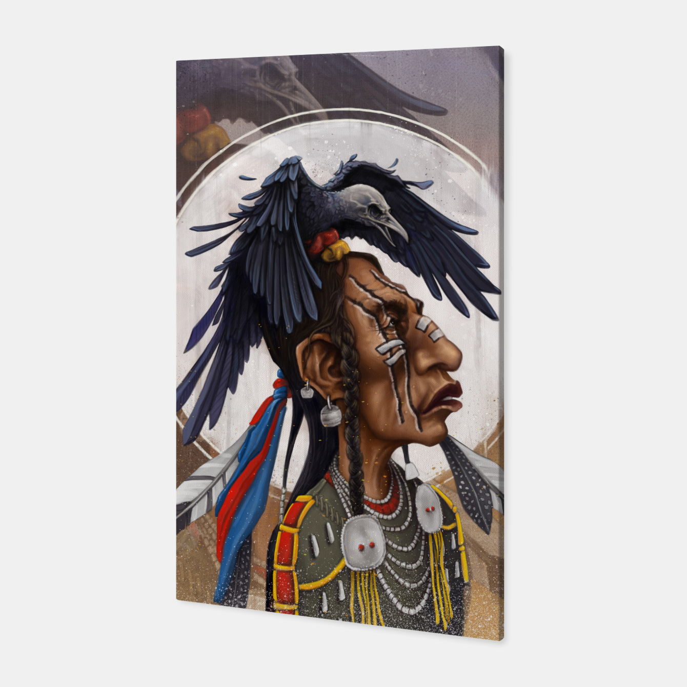 Image of Medicine crow Canvas - Live Heroes