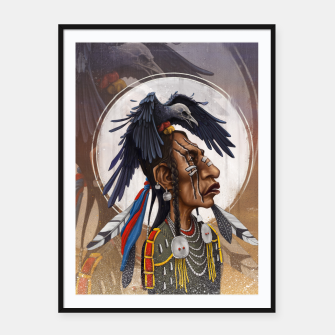 Medicine crow Framed poster thumbnail image
