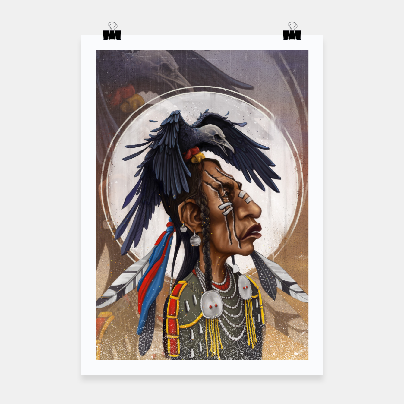 Image of Medicine crow Poster - Live Heroes