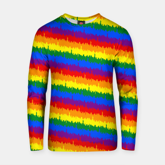 Thumbnail image of Mini Manhattan Skyline Pride Candy Stripe Cotton sweater, Live Heroes