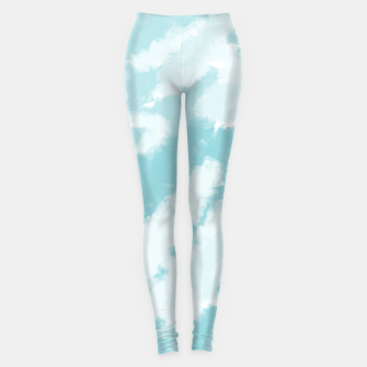 Miniature de image de Blue Sky Pattern Leggings, Live Heroes