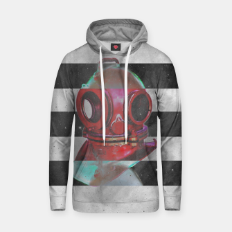 Thumbnail image of Old school helmet  Cotton hoodie, Live Heroes